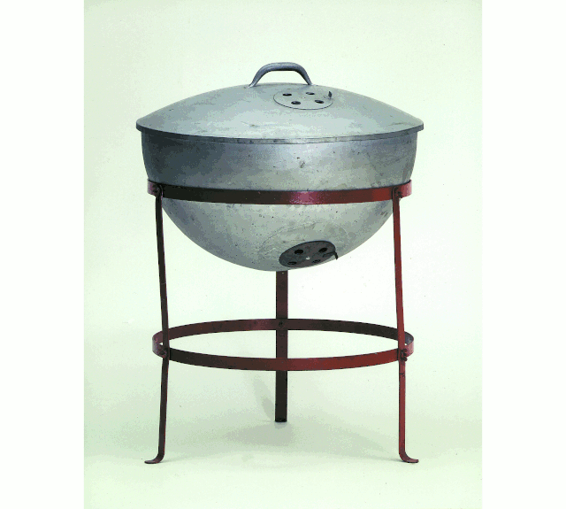 The Original Weber Kettle Grill.