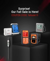 ThermPro 15% Off Fall Sale!