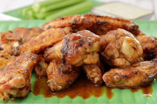 Grilled Barbecue Wings