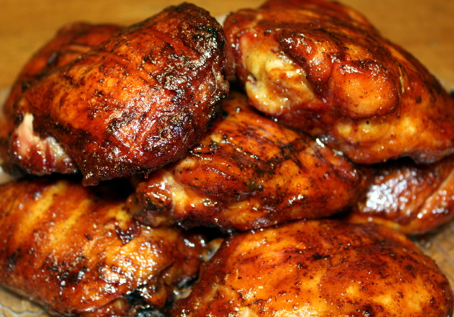 Barbecue Chicken Thighs