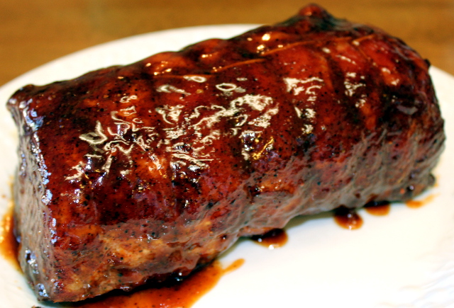 Barbecue Pork Loin